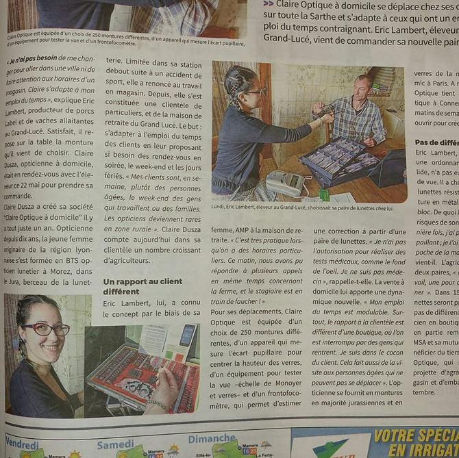Pleine page journal Agri 72