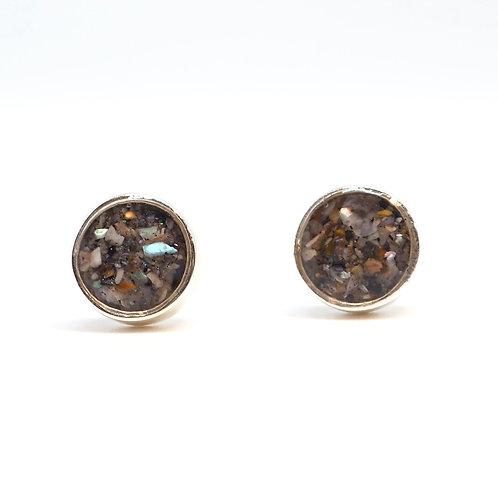 California - Big Sur / Silver earrings