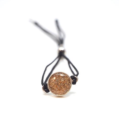 Srí Lanka - Mirissa / Silver bracelet with string