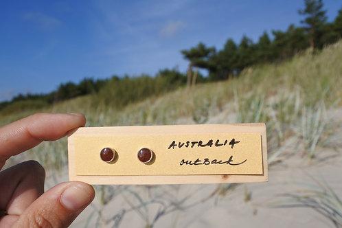 Australia - Outback / Silver earrings