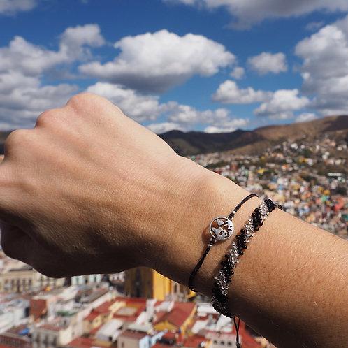 PLANET silver bracelet
