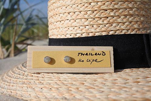Thailand - Ko Lipe / Silver earrings