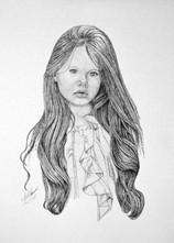 Anna - Pen and Ink