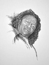 Donna - Pen and Ink