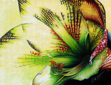 Easter Amaryllis - colored ink and pen.jpg