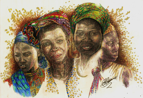 Africas Untapped Natural Resources  - colored ink and pen.jpg