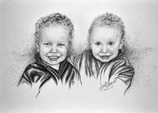 Brothers - Pen and Ink