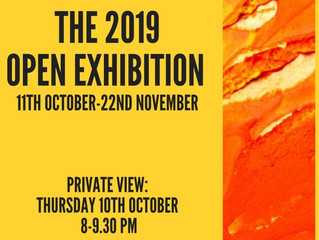 So happy to be back at the New Maynard Gallery for the 2019 Open Exhibition.
