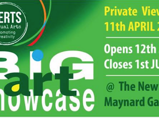 The BIG ART SHOWCASE - 12th April - 1st June 2019 - The New Maynard Gallery, The Hawthorne Theatre,