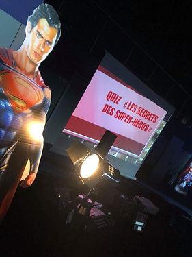 option complémentaires TeamBuilding Super-héros