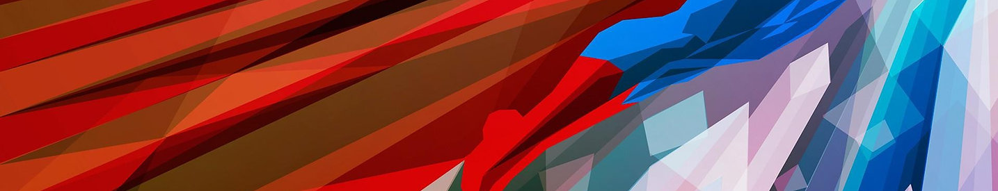 illustration-red-artwork-low-poly-blue-f