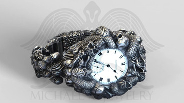 Skull Watch cover