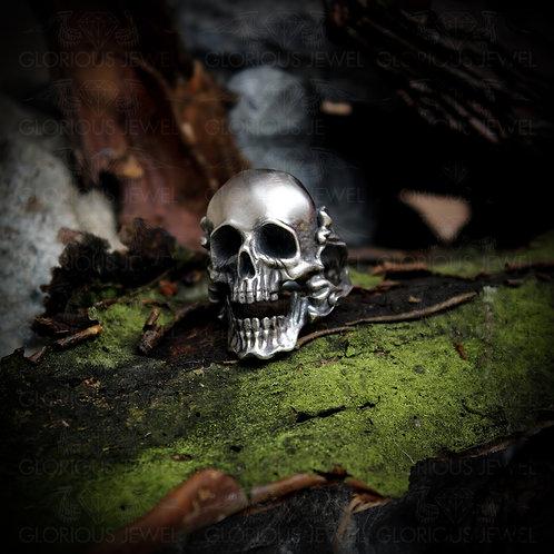 Skull ring, skull rings for men, Harley Davidson ring, mens skull ring, Biker