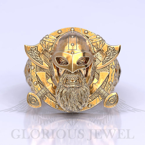 Viking ring, Silver Viking ring, Gold Viking ring, Medieval viking ring, Vikings