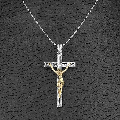 Christian Cross pendant, Jesus Cross pendant, Jesus Christ INRI Crucifix cross