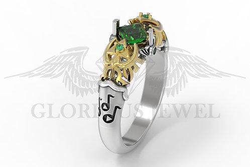 Zelda inspired ring Breath of the wild, Legend of zelda, Ocarina of time
