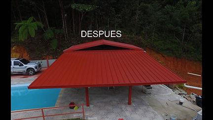 Techos galvanizados, Techos aluminio Roofing pr