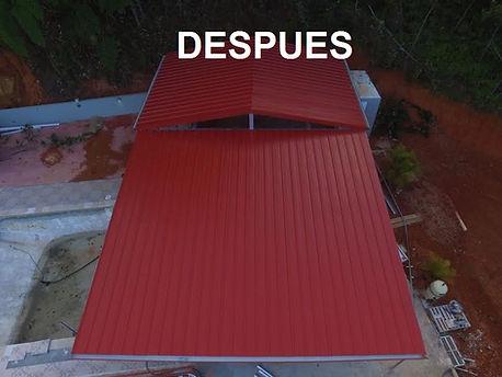 Techos de metal-techos de zin-techos metalicos-techos aluminio-Techos galvanizados-terrazas-gazebos