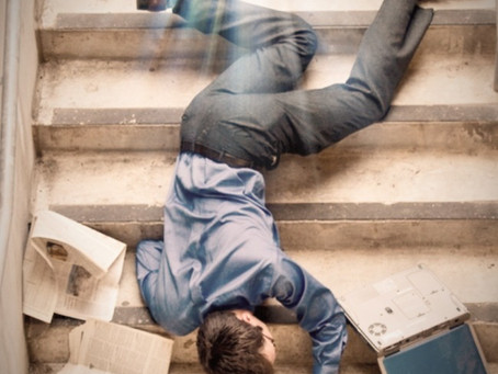 Falls Can Kill You or cause Serious Injury
