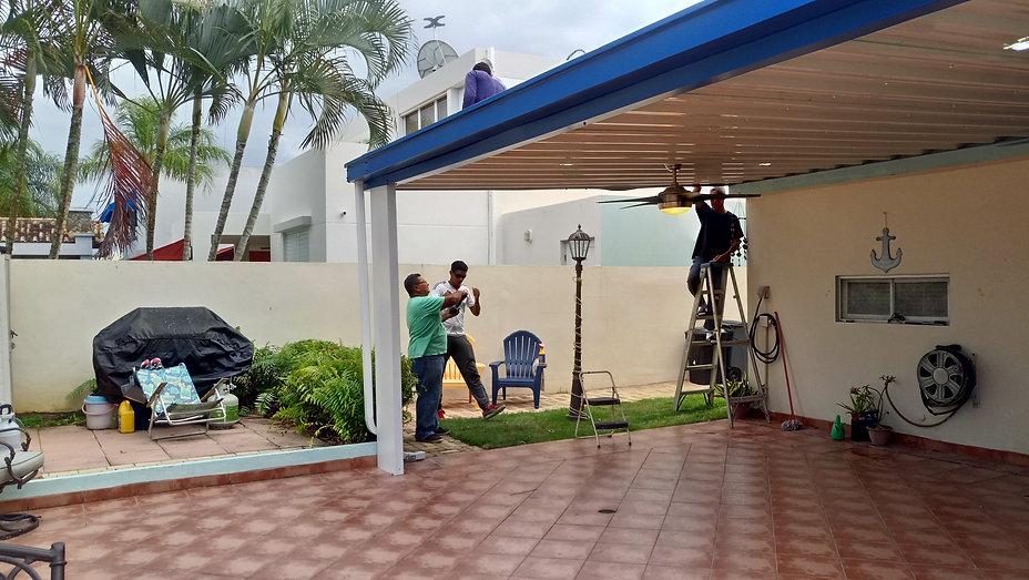 Techos galvanizados Puerto Rico, Techos terrazas