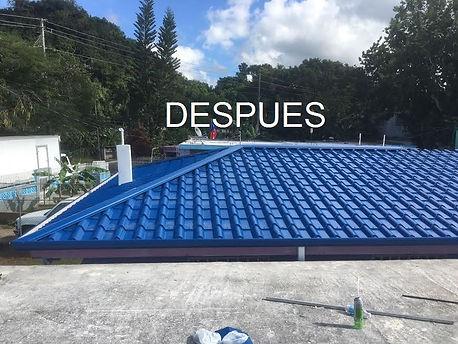 Techos Tipo tejas metaticos | Techeros Puerto Rico