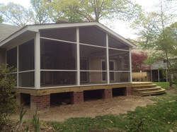 New Porch and Deck