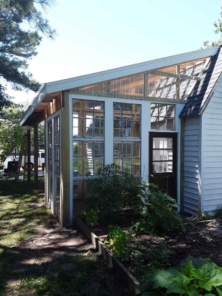 Greenhouse and Carport Addition