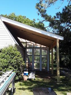 Carport and Greenhouse Addition
