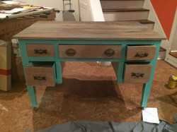 Refurbished desk by Rave