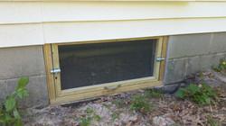 New Crawl Space Door