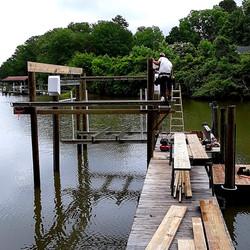 Beginning of Boathouse