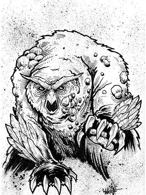 Blistered Owlbear