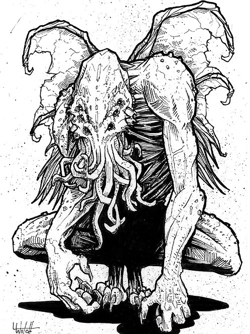 Petrified Cthulhu