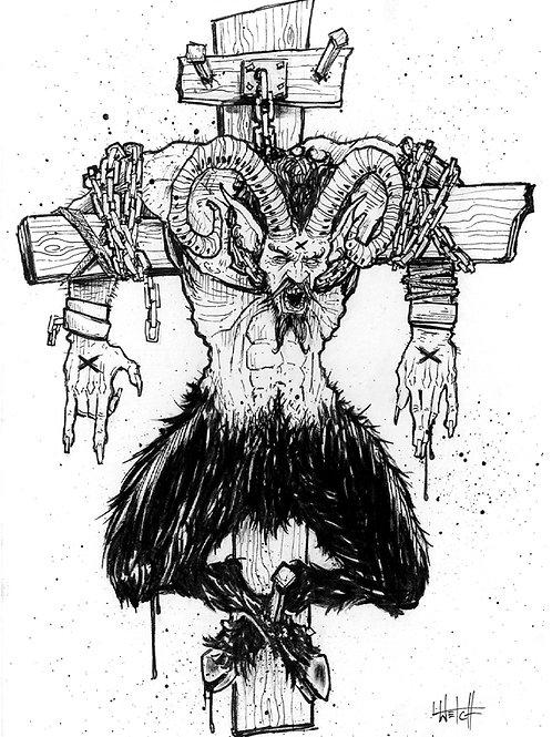 Crucified Satyr