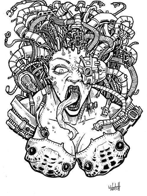 Cyborg Medusa