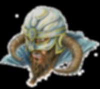 Viking portrait Luke Welch
