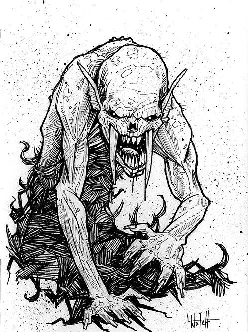 Sabretoothed Ghoul