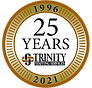 Trinity 25 Year Seal.png