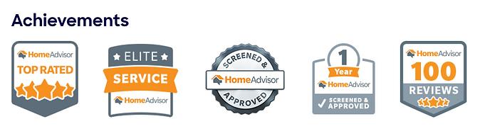 Home Advisor Achievements Cool Mark Heat