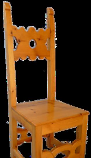 Sedia verniciata