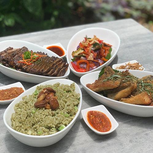 Nasi Ulam Feast