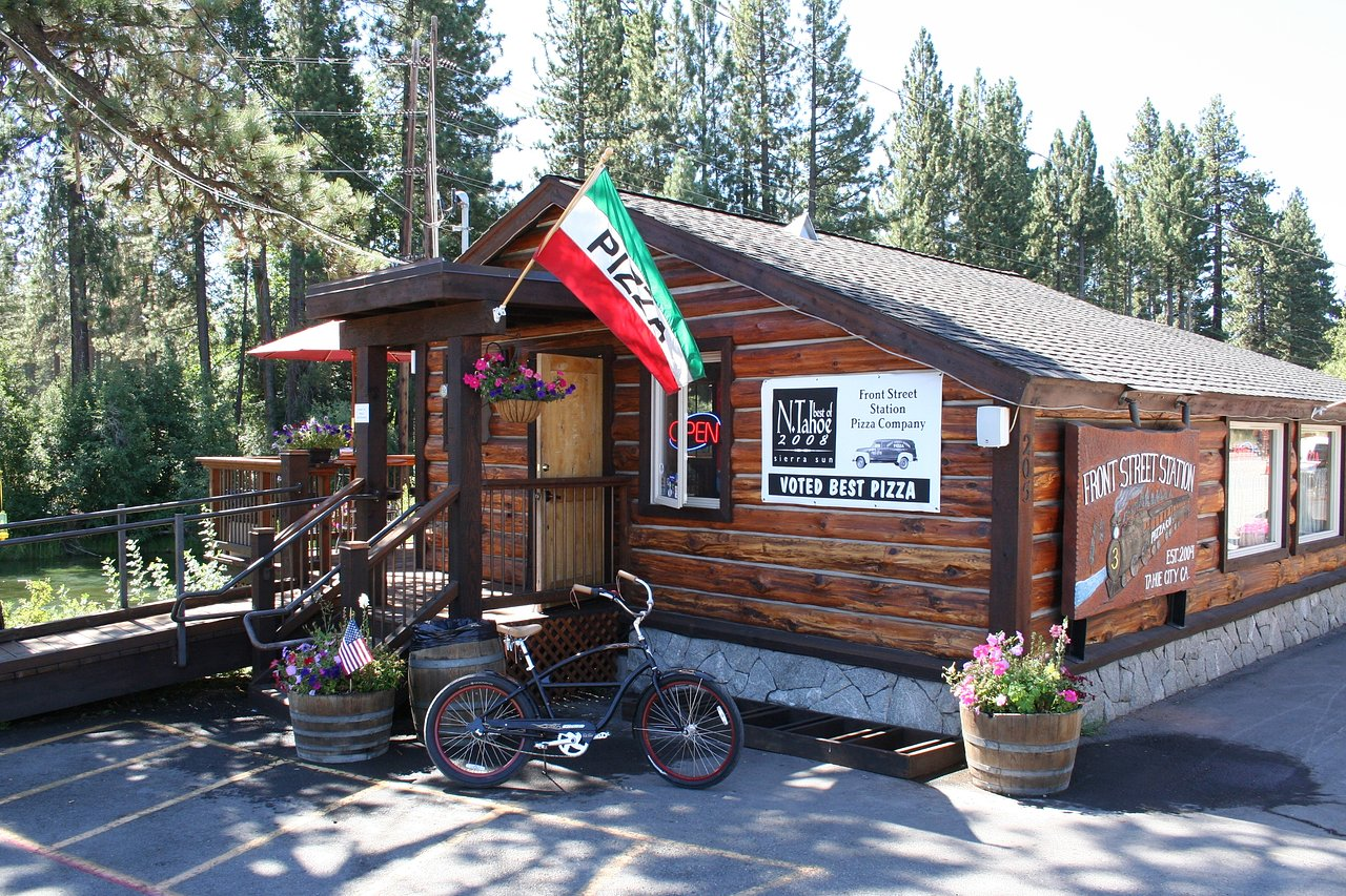 Front Street Pizza Station Tahoe City Truckee