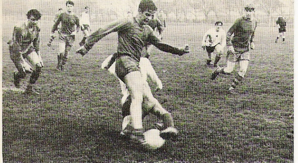 1970 Tunney Cup Final action RMB Eastney v 41 Cdo