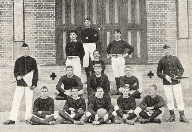 1905 Royal Marine Legation Guard Football Team