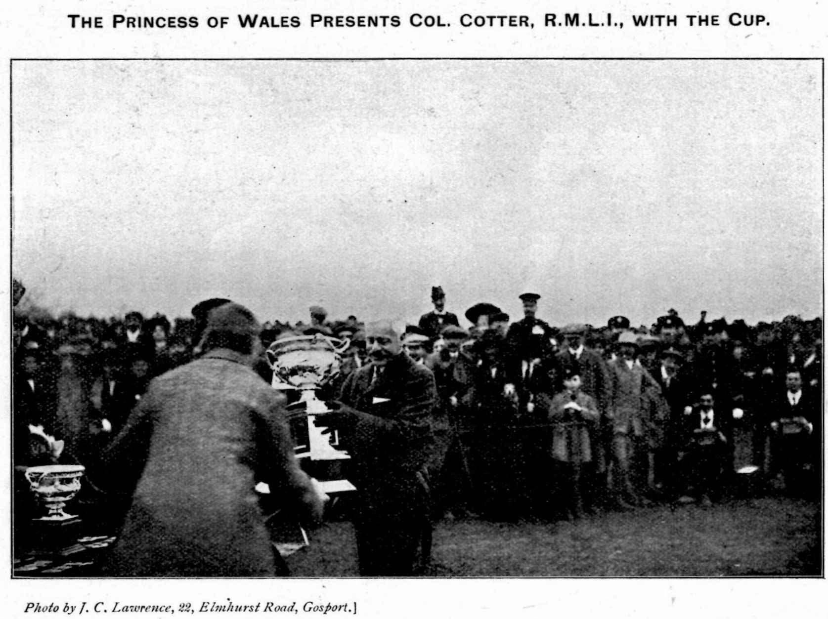 1910 HRH The Princess of Wales