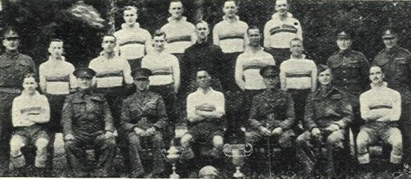 1942-43 Depot Royal Marines Football team
