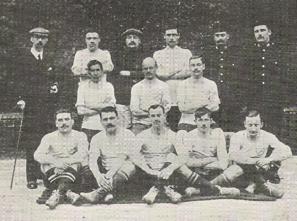 1910 Army Cup Winners Royal Marines Light Infantry