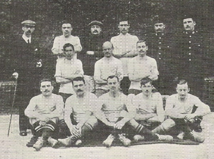 1910 Army Cup Winners Royal Marines Ligh