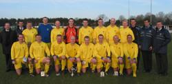 2004 Royal Navy FA Team v Guernsey