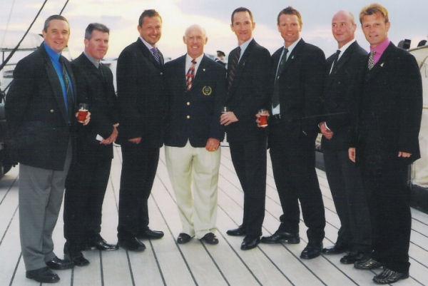 Royal Navy centenary dinner 2004